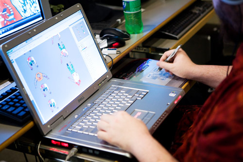 Game design vs Graphic design